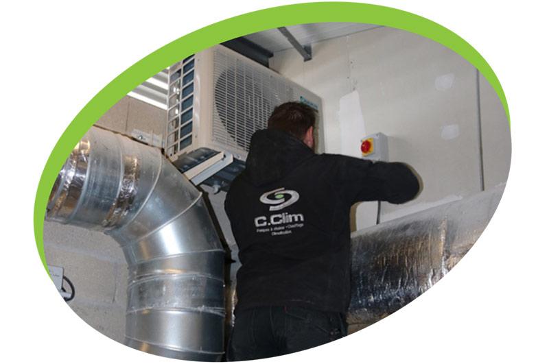 maintenance climatisation 95