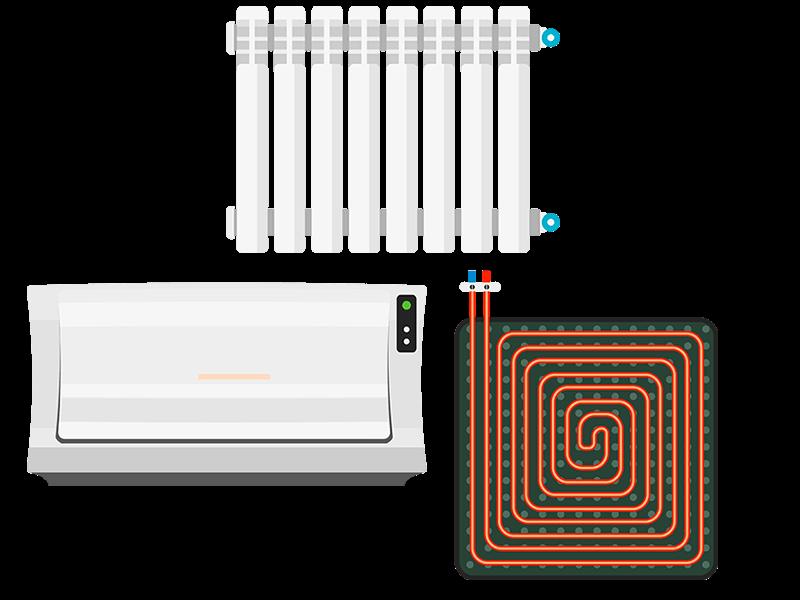 plancher chauffant radiateur
