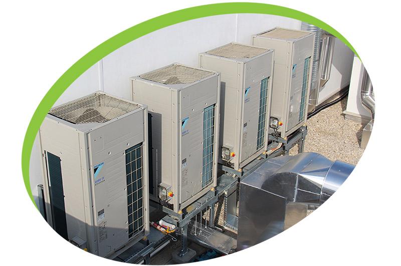 unité exterieure climatisation entretien hopital